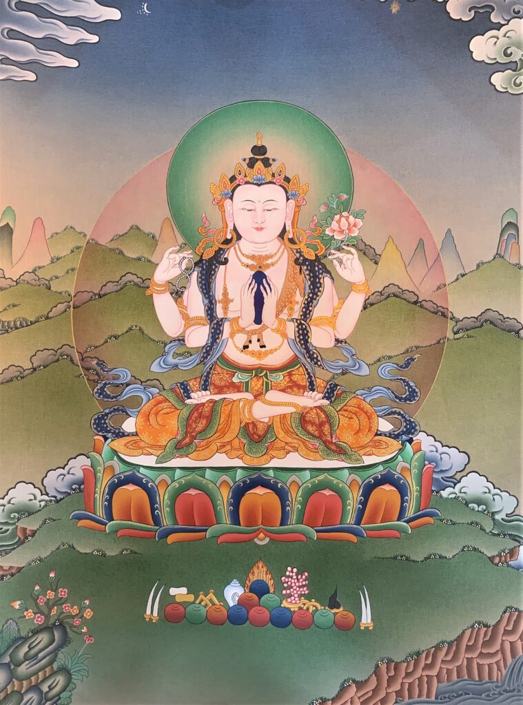 Bodhisattva Chenrezig