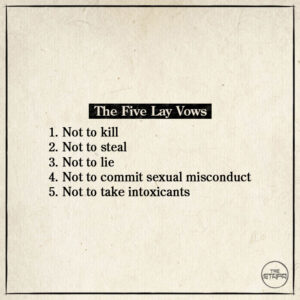 The Five Lay Vows