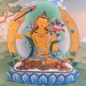 Mañjushri འཇམ་དཔལ་
